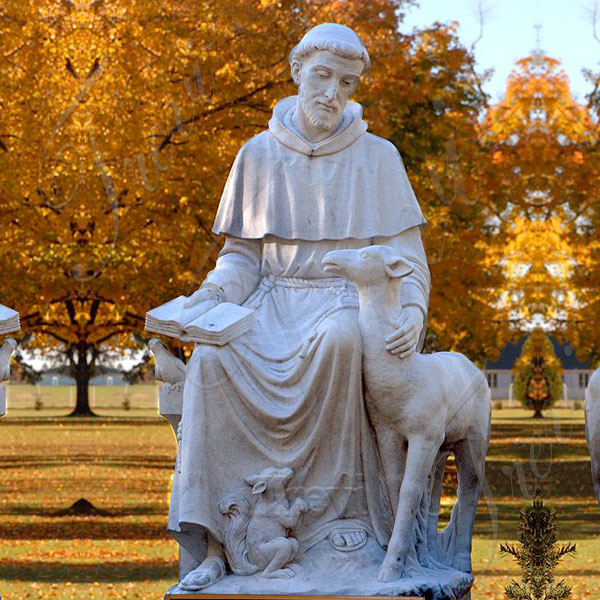 Stones st francis of assisi garden statue life size yard statues for sale near me