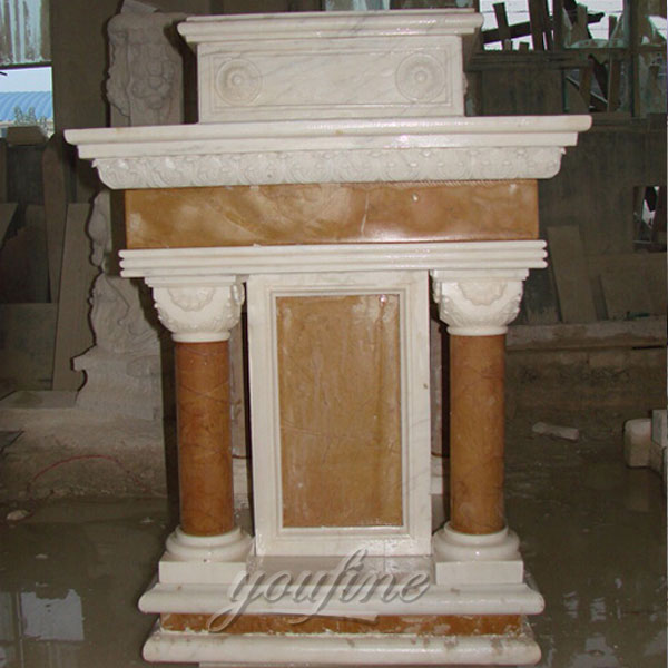 Factory Wholesale Luxury White Marble Religious Altar for ...
