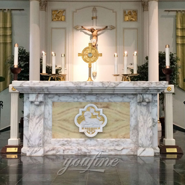 marble carved roman church lecterns factory for church decor ...