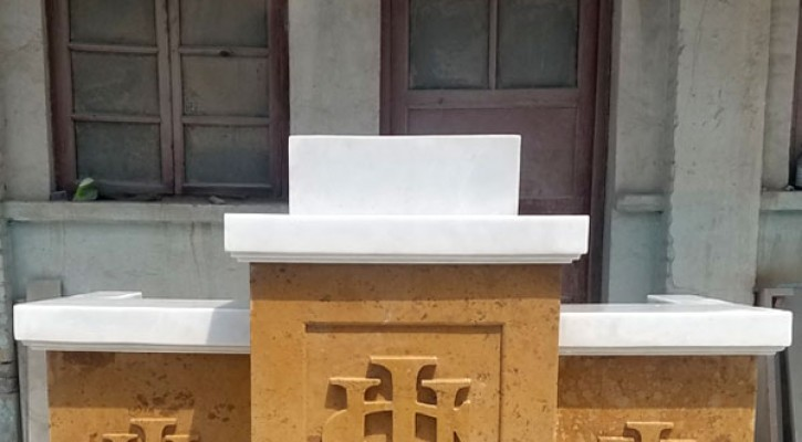 Contemporary church podiums and pulpits classical designs for sale TCH-208