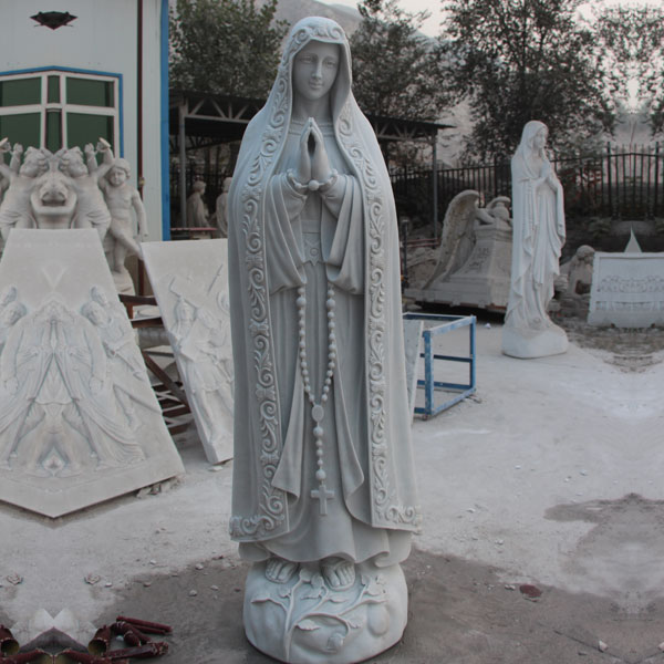 Beautiful virgin mary blessed mother our lady of fatima religious church lawn statues for sale TCH-63