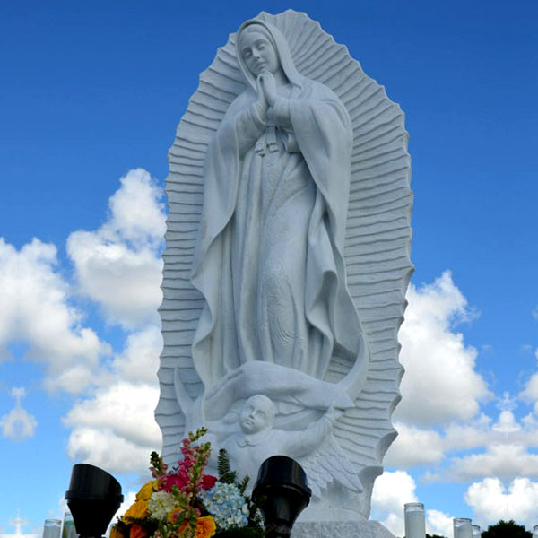 Beautiful virgin mary our lady of Guadalupe religious garden statues for catholic church lawn decor TCH-74