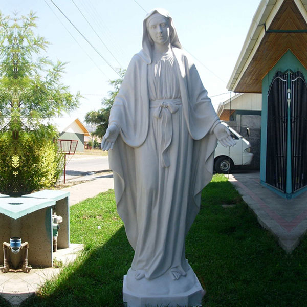 Buy holy mary our lady of grace outdoor religious garden statue for catholic church decor TCH-106