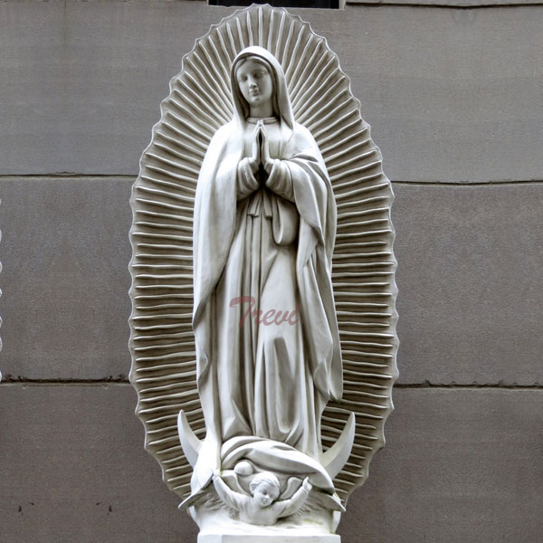 Outdoor beautiful virgin mary Virgen de guadalupe garden lawn statue 36 inches to buy online TCH-200