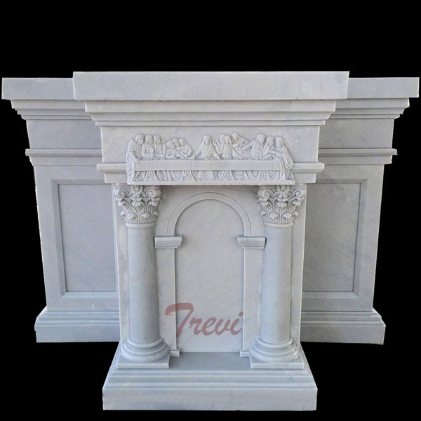 Church white marble custom made large podiums and pulpits furniture suppliers TCH-214