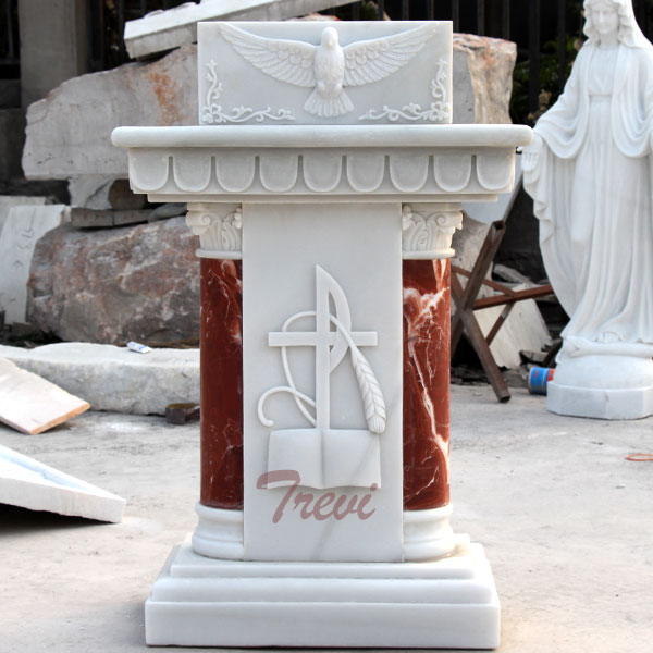 Classical church marble lecterns and pulpits marble furniture makers TCH-207