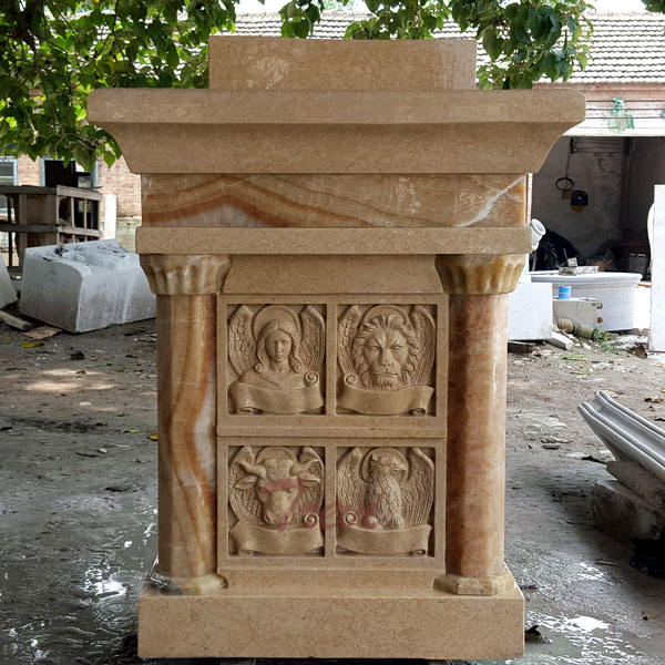 Custom church pulpits stand antique marble modern designs to buy TCH-210
