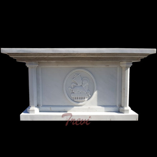 Custom made large catholic church altars table white mable sculpture to buy online TCH-220