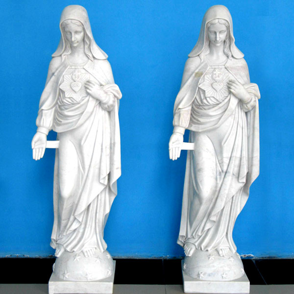 Our lady immaculate heart of mary outdoor church lawn statues online sale TCH-224