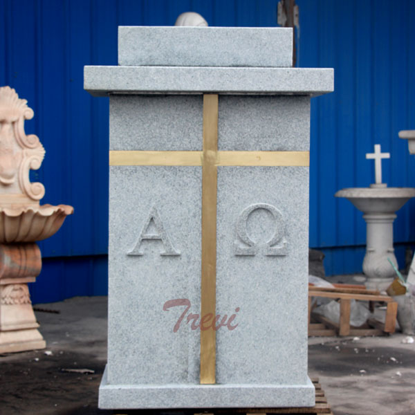 Where can i buy a custom made marble modern church pulpits stands TCH-209