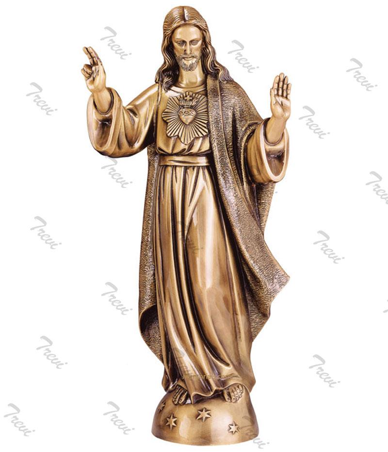 Bronze catholic sacred heart of jesus outdoor garden statues to buy